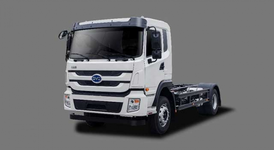 BYD  electric truck to Brazil/ BYD con 200 camiones electricos para Brazil