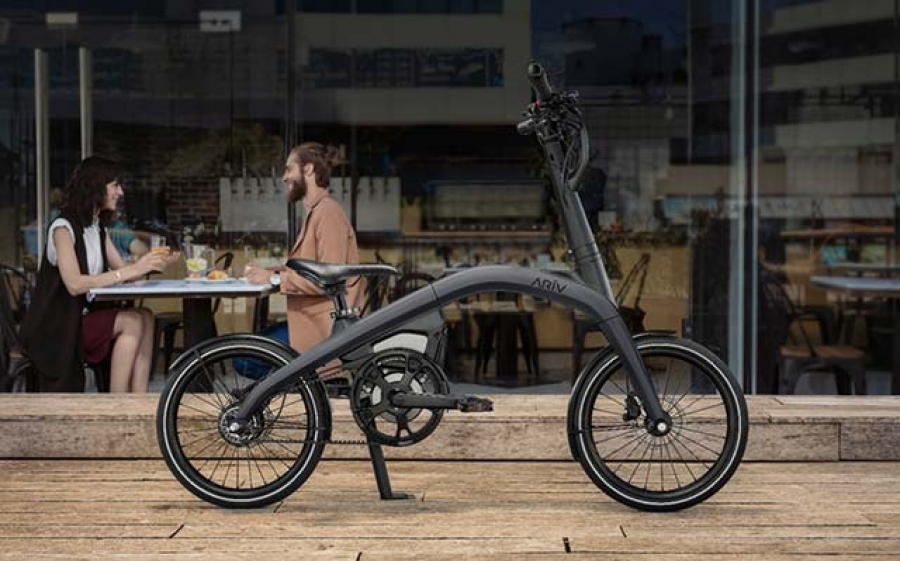 GM electric bike/GM presenta su bike electrica